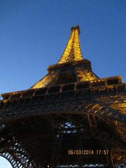 Eiffel Tower during Dusk , Deen B - March 2014