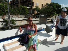 Catamaran Cruise to Tulum , Kimberly A - August 2014