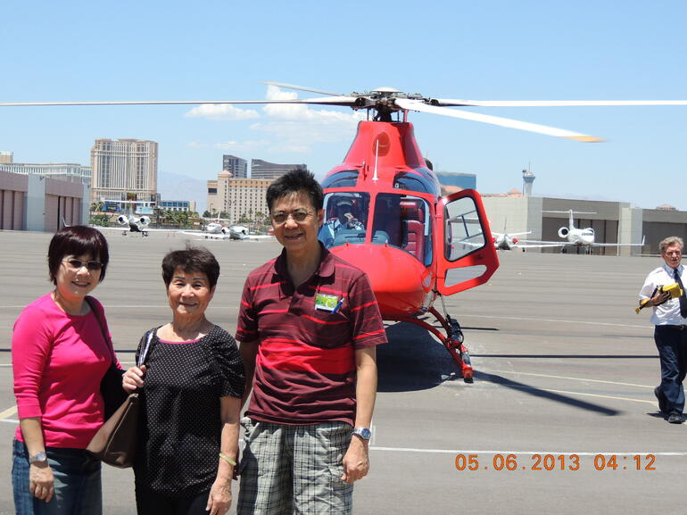 helicopter experience Grand Canyon - Las Vegas