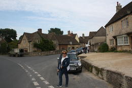 The picturesque village of Lacock was used in the filming of some scenes in the Harry Potter movies , Steve L - October 2013