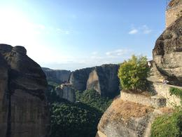 The beautiful view in Meteora , Adrianne R - August 2016