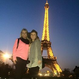 First day in Paris. , Kimberly H - March 2015