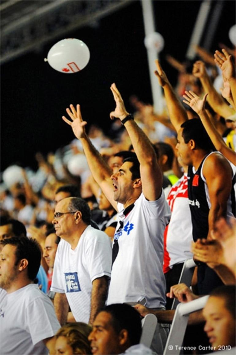 Rio de Janeiro Soccer Match and Stadium - Rio de Janeiro