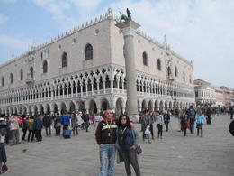 We are in front of Dodge's palace , Reni D - March 2014