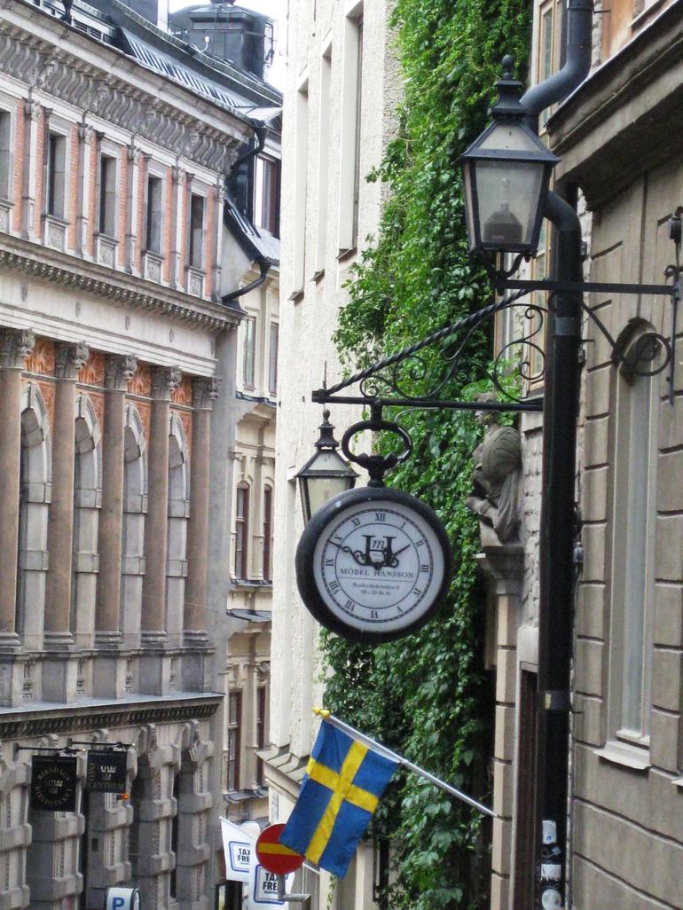 Street scene in Old Town - Stockholm