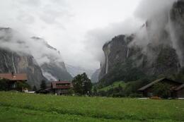 Heading up the Alps on the Cogwheel train. , mattupu - July 2014