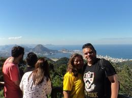 My husband and I during our World Cup/Honeymoon trip to Rio de Janeiro last July 5, 2014. This photo was taken at the Vista Chinesa stop of the wonderful Tijuca Rain Forest tour. , mkeew2000 - July 2014