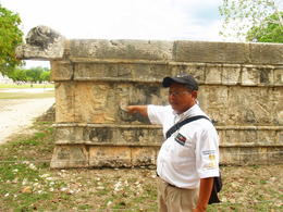 Our local guide explaining the ruins. , SANTOSH V M - June 2011