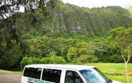 The Koolau Mountains of Oahu - July 2009