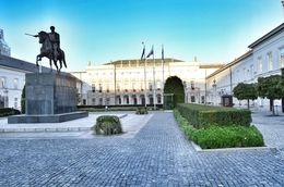 THIS is the presidential palace along Warsaw's royal way. , David Lally - October 2015