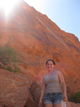 Me at the Valley of Fire, Cutie Repolinos - May 2013