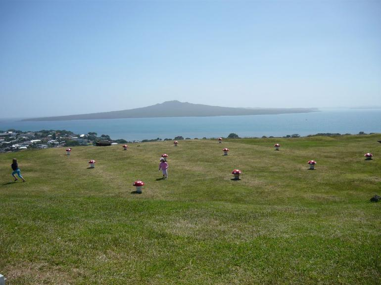 View from Fort Victoria - Auckland