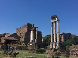 Roman Forum , Jessica H - July 2017