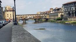 Ponte Vecchio and Arno river , Michael S - August 2017