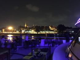 A view of the harbor during the cruise at night. , Scott S - August 2017
