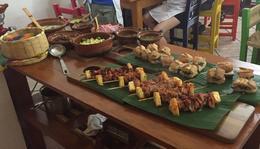 Buffet: Al Pastor Pork, Carnitas and Several Salsas , carole_macf - November 2017