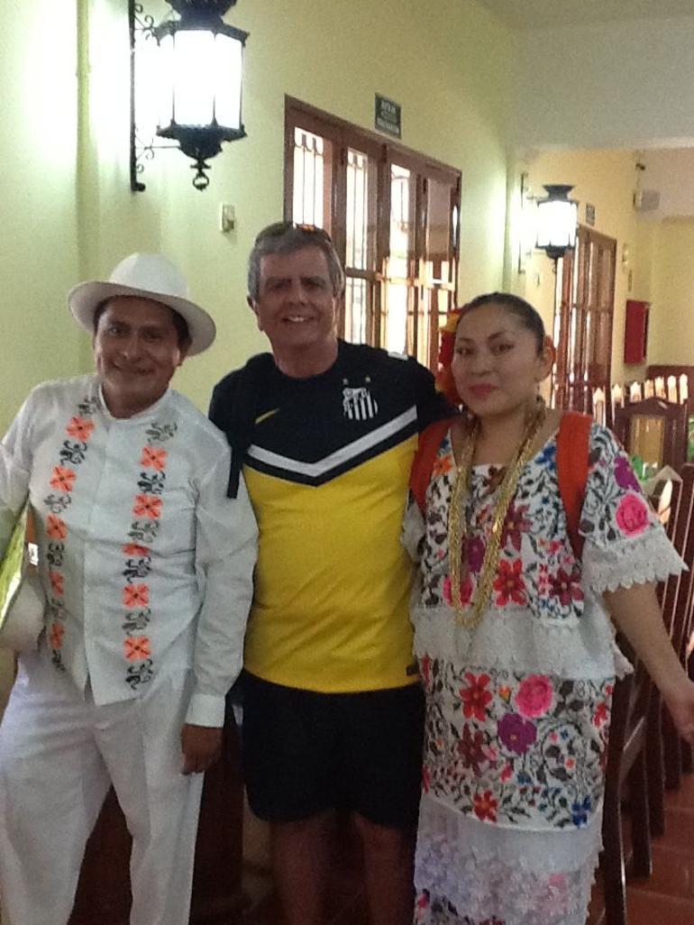 Almo�o com show t�pico - Cancun