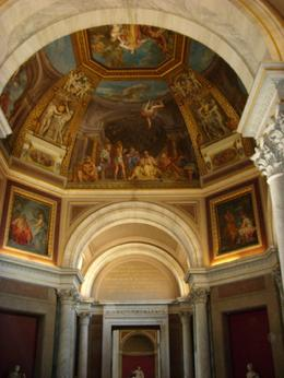Various ceilings in Vatican Museums., Malcolm P - August 2008