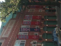 Championship banners - June 2011