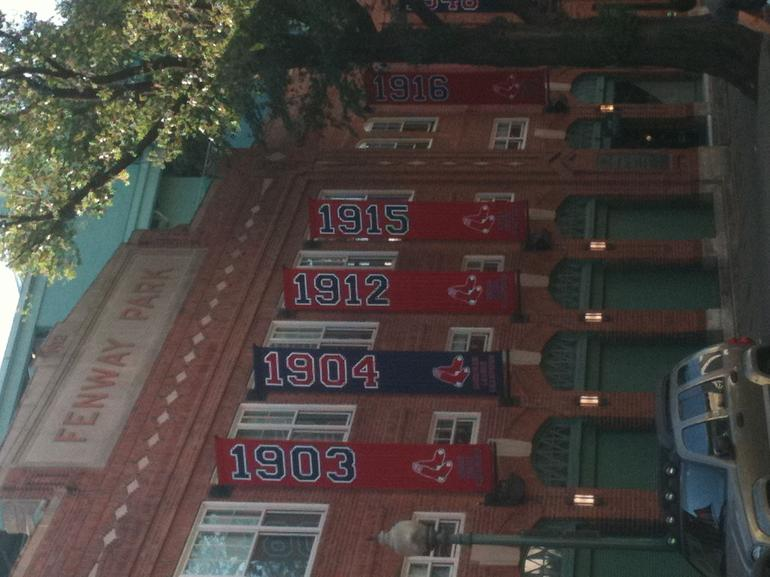 Championship banners - Boston