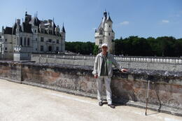 Mario at Chenonceau Castle during Day Trip to Loire Valley Castles , Mario S - June 2014