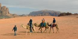 Wadi Rum , Kathy - February 2013