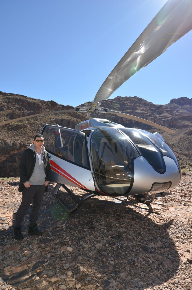 me and the heli - Las Vegas