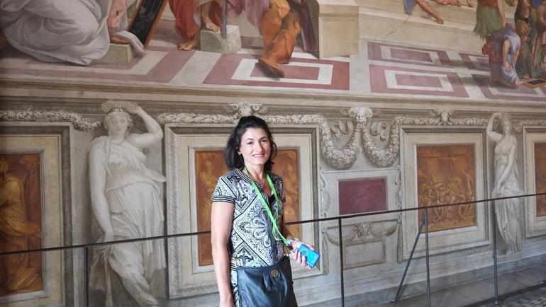 My wife - Rome