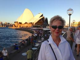 Sunset on the Sydney Opera before the performance. , Fred - March 2013