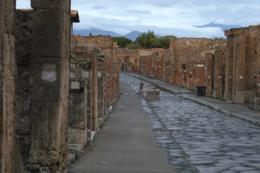 Pompeii at sunset..., Brian M - October 2010