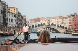 The Rialto Bridge (Italian: Ponte di Rialto) is one of the four bridges spanning the Grand Canal in Venice, Italy. It is the oldest bridge across the canal, and the most famous in the city, Jan G - October 2009