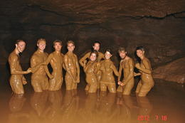 Mud caves in Yangshuo - January 2013