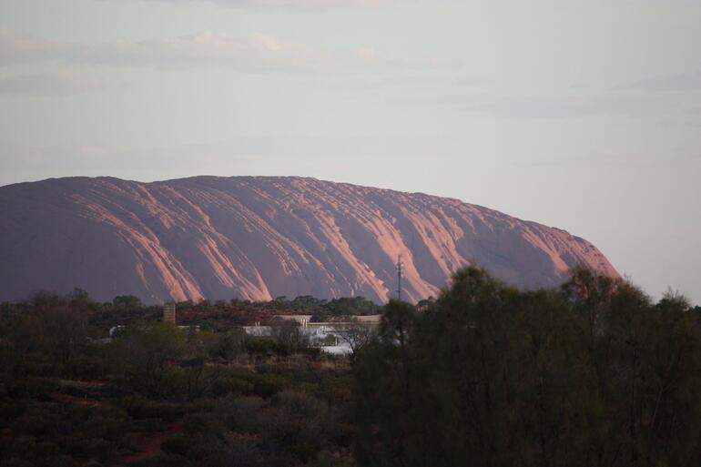 Sunset over Uluru - Ayers Rock