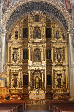 Inside the Templo de Santo Domingo., Bandit - November 2013