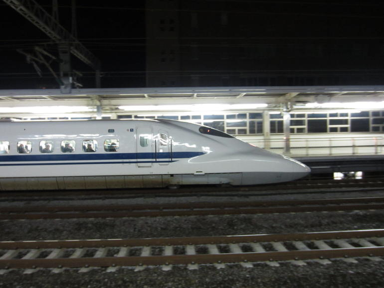 The bullet train - Tokyo