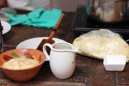 Preparing out tortas, Bandit - December 2013