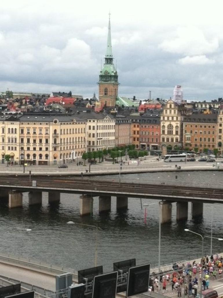 View from Hilton Hotel - Stockholm