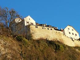 this is the castle of Liechtenstein, a view from afar , dceleridad - December 2016