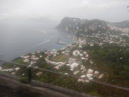 View from the bus ride to Anacapri , Steve R - February 2017