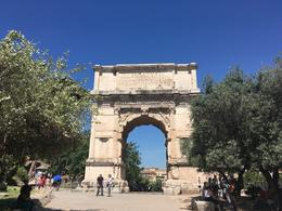 Arch of Titus , Jessica H - July 2017