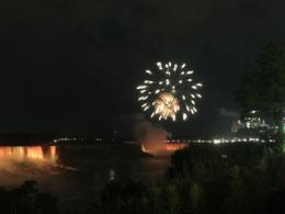 Niagara evening fireworks , Shona T - July 2017