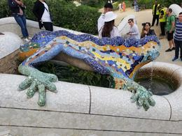 Park Guell, Gaudi Architecture , Querin Travels - October 2017