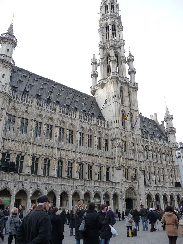 at Grand Place - Brussels