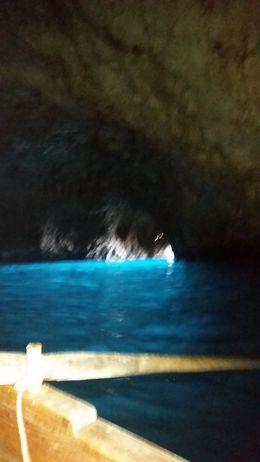 inside the blue grotto , Marie D - March 2015