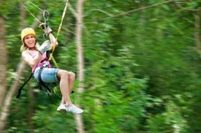 Canopy Zipline - St Lucia