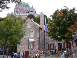Museum and Frontenac chateau, Ha J - October 2009