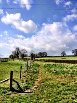 So many amazing trails to explore in the Cotswolds - ideal place to spend a few days for people who like to walk. , Skootre - April 2012