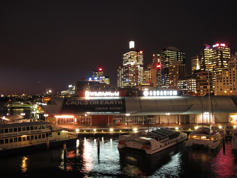 Darling Harbour at night 2 - Sydney