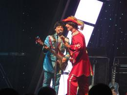 Fab Four Live in their Sgt. Pepper's costumes--Paul and George. - April 2010