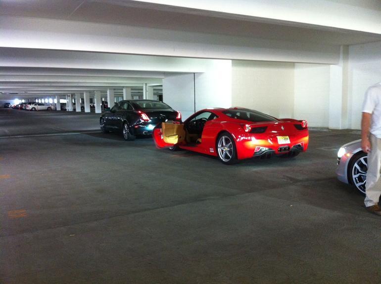 Ferrari 458 italia - Las Vegas